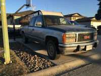 1991 GMC Sierra 1500 Pickup - Trade for quad or fishing boat