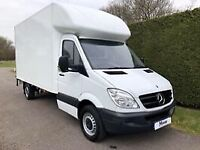 Man and van removals anywhere anytime from £15