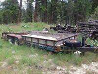 10,800 GVW Trailtech Vehicle hauler