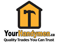 ****Solid as the wood we work with – YourHandyMen.Ca****