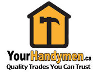 Professional Electricians! Call YourHandyMen.Ca