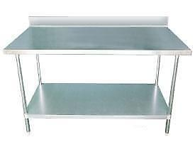 Stainless Steel Table - Ships from Langley - BEST PRICE on a Commercial Work Table