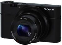 Sony RX100 with 2 year warranty