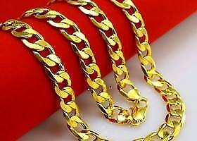 Gold Figaro Link Chain