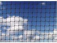 2 huge pieces of pigeon netting