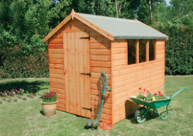 Apex 8x6 Shiplap Shed - £507.00 Del. & Inst. throughout Norfolk & Suffolk