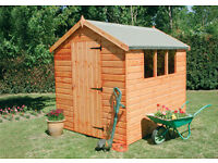 Dalby Apex 8x6 Shiplap Sheds £480.00 inc. Del & Install Nationwide