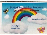 Registered ofsted childminder