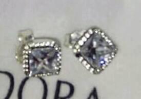 New genuine pandora earrings