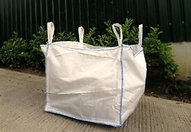 5 X 1 TON/NE RUBBLE BAGS -
