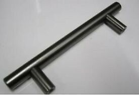 Bar Handles Pewter Gunmetal Cupboard Pack of 6 for your Kitchen