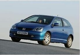 2004 Honda Civic Made in Blue Hatchback 5 seaters - Very good condition