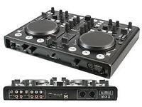 PROFESJONAL USB MIDI DJ Controller with Soundcard