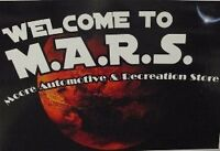 The M.A.R.S. Store ONLINE!!!!!!!!