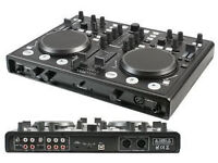 PULSE USB MIDI DJ Controller Mixer with Soundcard >> UK Delivery +£10 <<
