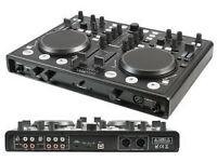 PROFESJONAL USB MIDI DJ Controller with Soundcard >> UK Delivery +£10 <<