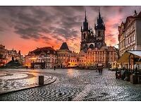 2 return flight tickets Manchester - Prague 22.DEC - 26.DEC