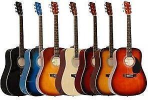 Guitare acoustique neuve avec étui