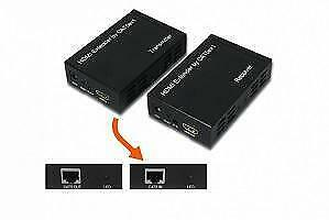 Weekly promo! EGALAXY ®HDMI EXTENDER SPLITTER OVER SINGLE CAT5E/6 CABLE 100-210 METER W/IR TX->RX