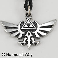 Zelda-The-HYLIAN-CREST-Pendant-Necklace-auction
