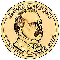 2012  Grover Cleveland(2nd term) D & P mint-2 coins