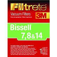 Bissell Allergen Filter 7,8,14 Replacement Vacuum Cleaner Filter 66878-4 4pk