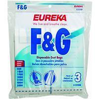 Eureka Replacement Style F&g Vacuum Cleaner Bag 52320b-6 6pk