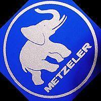 Metzeler Silver Elephant Stickers Set Racing Sponsor Bmw Decal K R F Racing 1 6