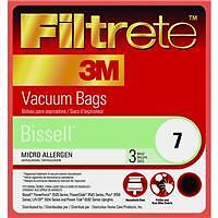 Bissell1,4,7 Micro Allergen Replacement Vacuum Cleaner Bag 66707-6 6pk