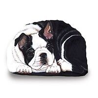 Boston Terrier gifts: t-shirt,circle,doormat,Sandicast sculpture
