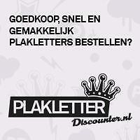 Sticker Teksten Bestellen.Plakletters Of Complete Promotie Teksten Online Bestellen
