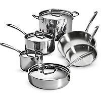10 piece waterless cooking system