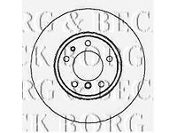 Borg /& Beck BBD4796 Brake Disc Pair Front