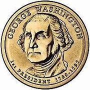 Presidential Dollar Rolls Washington