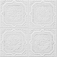 Armstrong Ceiling Panels 1240 - 12x12x1/2 TinLook Wellington. 40 Sq.Ft Box