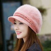 New - Woman hat, Apricot pink