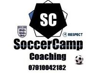 Easter Holiday Soccer Camps 2017