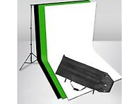 "Chroma Key ""Green Screen"" Background Stand Kit"