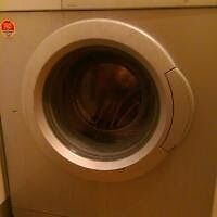 Used Bosch Washing Machine 7 kg silver grey 1200 spin (pickup only)