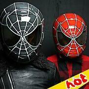 Spiderman Motorcycle Helmet