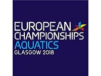 Glasgow 2018 European Diving Championships (Final-Edinburgh) 2 x Adult & 2 x Under 16 tickets