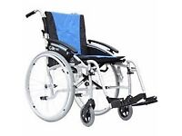 Wheelchair for sale - lightweight and easy to fit in car boot.