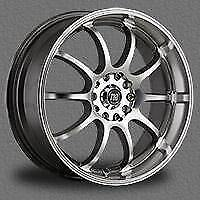 "MAGS FRD GT22 17"" (MACHINEE ET GRIS) 5x100 5x114.3"