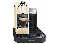 Nespresso 190 Citiz and Milk Coffee Maker by Magimix, Cream