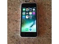 i phone 5c 16GB unlocked free charger small fault