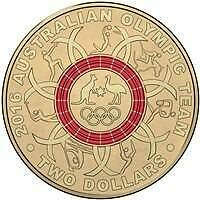RED OLYMPIC $2 COIN Tuggerah Wyong Area Preview