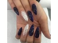 Full Set Acrylic Nails from £15 Shellac Gel Polish £10 Fallowfield Manchester