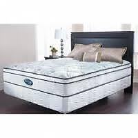 Simmons Backcare Barossa double mattress and boxspring