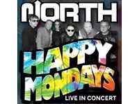 2 x Standing Tickets for Happy Mondays / K-Klass / Graeme Park £35 per Ticket