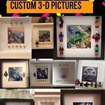 Custom 3-D Pictures